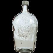 Бутыль стеклянная Виноград 5 л.